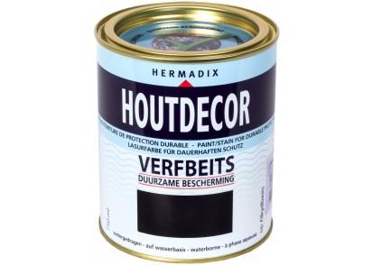 Houtdecor Verfbeits Dekkend 0.75 Liter