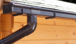 Dakgoot BG70 Bruin - Lessenaarsdak