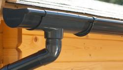 Dakgoot E100 Antraciet - Lessenaarsdak