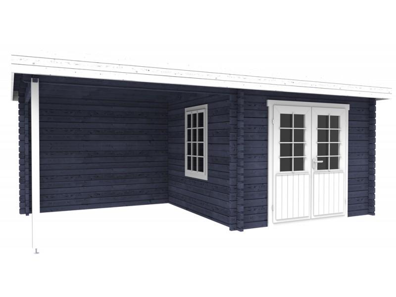 Tuinhuis tuinhuis hout behandelen : Blokhut Interflex 3031 Z