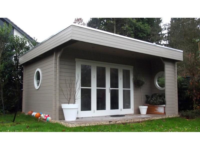 Blokhut interflex subliem 5x5 for Modern house 5x5